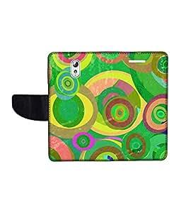 KolorEdge Printed Flip Cover For Lenovo Vibe P1M Multicolor - (1478-50KeMLogo12041LenovoP1M)