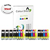 Colour Direct - 3 Ensembles + 3 Noir - 33XL Compatible Cartouches d'encre...