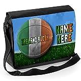 personalisierbar Rugby Irland SH139Schule Schulter Arbeit Messenger College Tasche Geschenk * *, einen Namen oder Text * *
