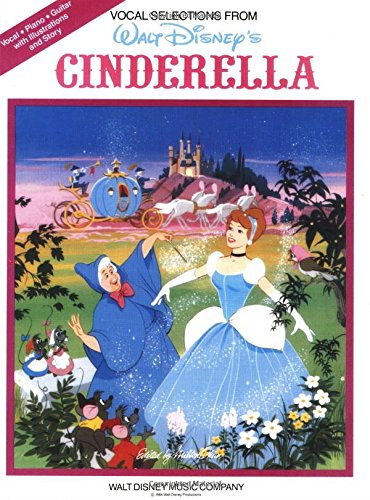 Cinderella Vocal Selections Pvg (Disney Movie)