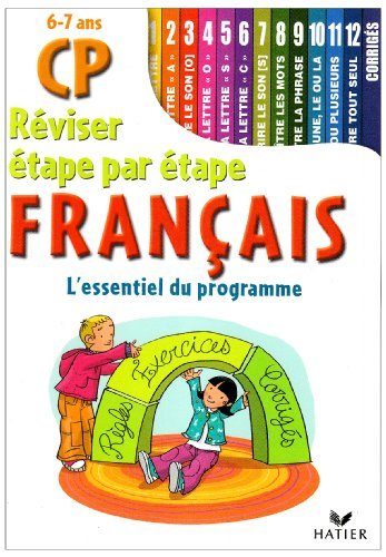Réviser étape par étape Français CP : 6-7 Ans par Eric Mornet