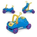 Baby Vivo Bobby Car Lauflernwagen Lauflernhilfe 2in1 Rutschauto Laufwagen Laufhilfe Kinder Baby Walker Multifunktional - Blau