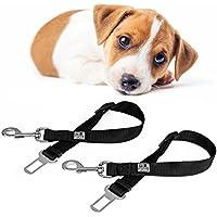 EVERANIMALS Cinturón De Seguridad para Perros | Correa Ajustable Y Resistente | Apta para Todos Los