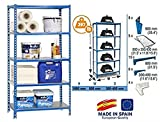 SimonRack SI395 Kit Estantería con 5 Estantes, 1800 x 800 x 400 mm