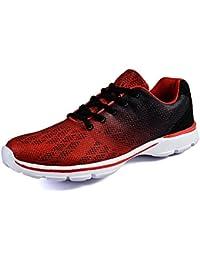 XIANV Laufschuhe Atmungsaktiv Gym Turnschuhe Freizeit Schnürer Sportschuhe Sneaker