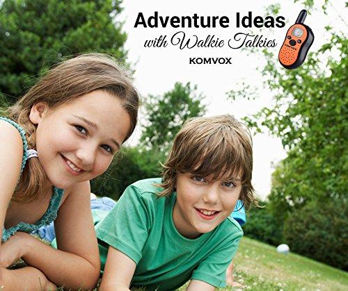 Kinder Walkie Talkies, Kinder Kleinkind Bildungsspielzeug, Kinder Elektronische Outdoor-Spiele Spielzeug 2