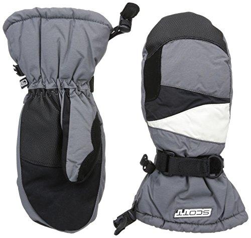 Scott Kinder Fausthandschuhe 720 Handschuh, Black-Grey, XL - Scott Junior Winter-handschuhe