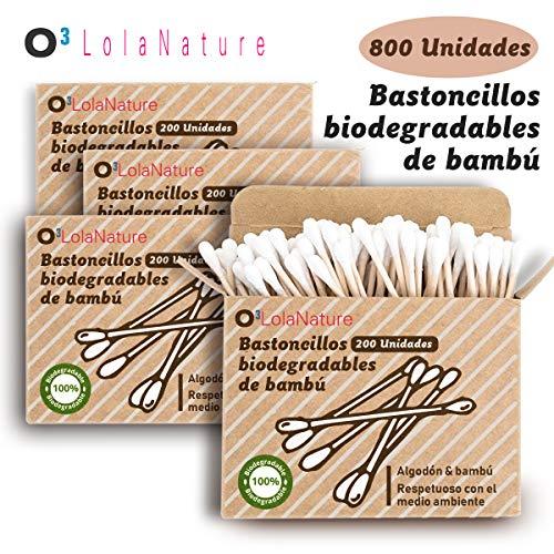 O³ Bastoncillos Ecologicos 800 Unidades | Bastoncillos