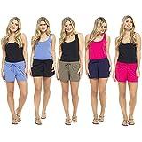 Soxy Ladies Cotton Blend Summer Shorts Lounge Beach Shorts UK Sizes 8-22