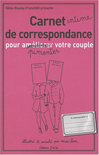 Carnet de correspondance pour améliorer votre couple