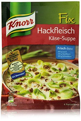 Preisvergleich Produktbild Knorr Fix Hackfleisch Käse-Suppe mit Lauch 4 Portionen