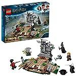 LEGO HarryPotter e il Calice di Fuoco L'AscesadiVoldemort, Set da Costruzione Collezionabile per gli Amanti del Mondo della Magia, 75965  LEGO