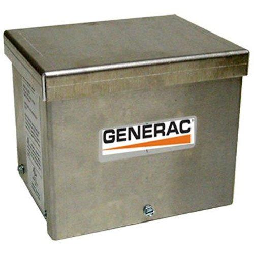 Generator Power Inlet (Generac 634330-amp 125/250V raintight Aluminum Power Inlet Box)