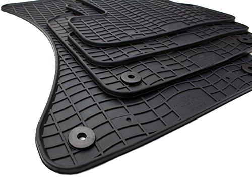 NEU! Gummimatten Audi Q5 8R Fussmatten Gummi Original Qualität SQ5 Auto Allwetter 4-teilig schwarz