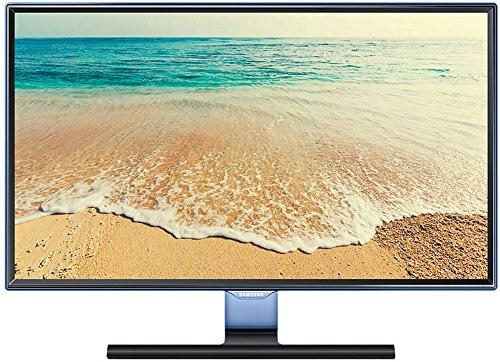 Samsung T24E390EW 62,16 cm (23,6 Zoll) Monitor (HDMI, D-Sub, USB, DVB-TC, 5ms Reaktionszeit, 1920 x 1080 Pixel, EEK A) blau