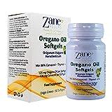 Zane Hellas Oregano Oil Softgels. Concentrate 4:1 Provides 108 mg Carvacrol per Serving