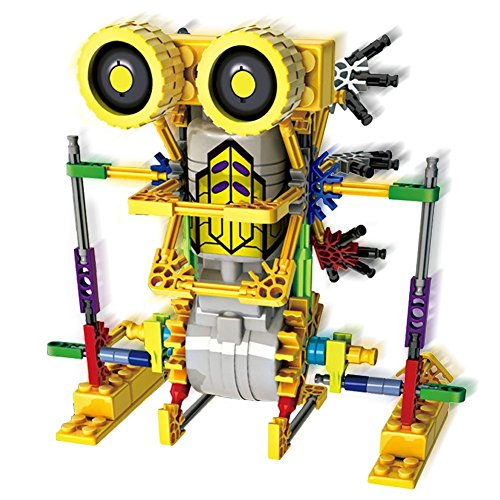 Preisvergleich Produktbild LOZ Motorial Alien Robot Robotic Building Set Block Toy , Battery Motor Operated, 3D Puzzle Design Alien Primate Robot(Armor Kangaroo) Figure for kids and adults,  122 parts