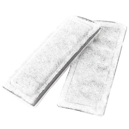 sourcingmap-acuario-activo-carbono-filtro-de-esponja-repuesto-gris-blanco-2-piezas