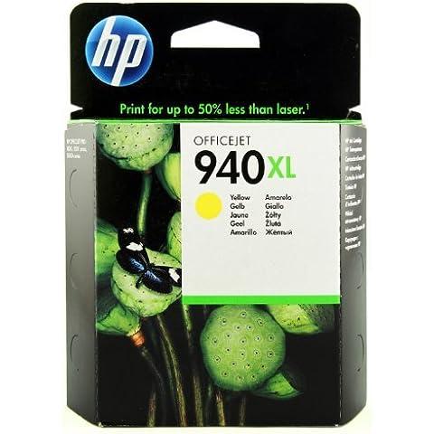 HP 940XL - Cartucho de tinta para impresoras (yellow, 1400 páginas, yellow, 20 - 80%, 0 - 40 °C, 15 - 35 °C)