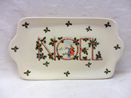 Weihnachten Noel-Sandwichplatte