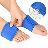 Compression Arch Supports Wraps for Plantar Fasciitis with A Pair Gel Arch Pads