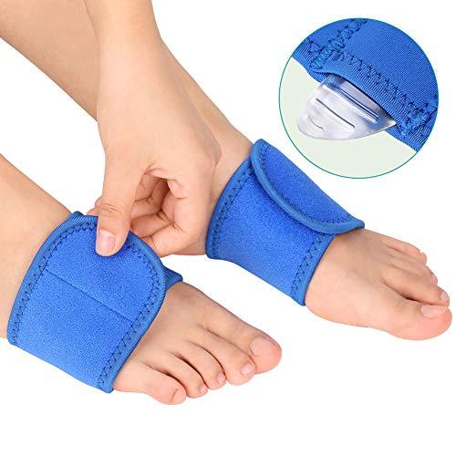 Arch Support Einlegesohlen Socks für Plantar Fasciitis mit einem Paar Gel-Arch-Einlagen für Flache Füße, Kompression Arch Unterstützt Wraps und Atmungsaktives Fußkissen Bandage für Schmerzlinderung (Füße Unterstützt)