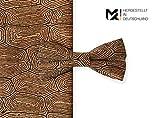 MAY-TIE Herren Fliege | Style: Kambium | 100% Kork | gebunden und stufenlos verstellbar mit Hakenverschluss | hergestellt in Deutschland