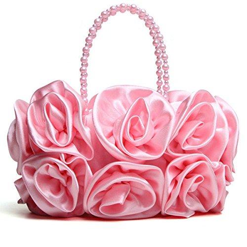 MOGOR, Poschette giorno donna viola Apricot medium Pink