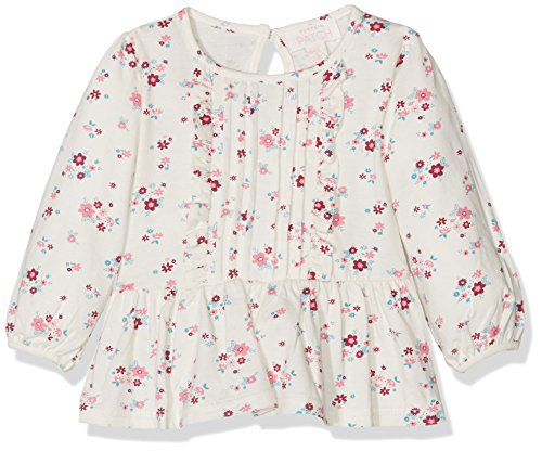 pumpkin-patch-baby-madchen-bluse-mini-floral-ruffle-top-elfenbein-off-white-french-vanilla-56