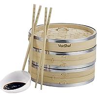 VonShef Contenitore in bambù da 20cm per