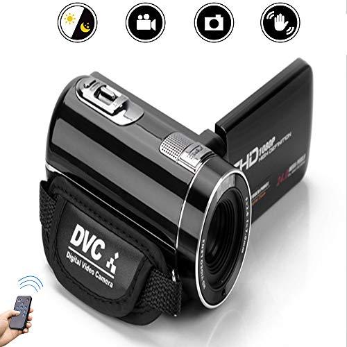 Meteor fire HD-Digital-Kompakt-Camcorder, 24-Millionen-Pixel-16-fach-Digitalzoom, elektronische Verwacklungsschutzkameras mit 3,0-Zoll-Umdrehungs-Flip-Screen-Unterstützung, Remote-Remote-Bedienung (Slr-kamera Flip Screen)
