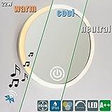 22W LED Bluetooth Music Box Lautsprecher Schminklicht ( Spiegel Enthalten ) Rund Touch Sensor...