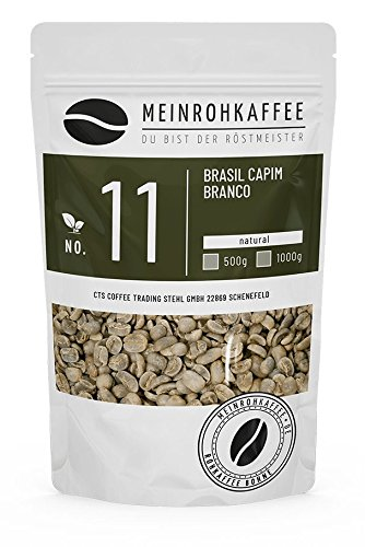 Rohkaffee - Brasil Capim Branco (grüne Kaffeebohnen) - süsslich, orangig, komplexe balanciertes...