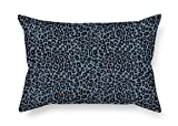 beautifulseason pillowcase Leopard Valentine Day Pillow Shams 12 X 20 Inches/30 by 50 cm Best Choice for Shop Home Office Home Husband Boy Friend Seat with Two Sides