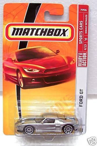 Matchbox 2009, Ford GT with Blue Stripes # 18, Sports Cars 1:64 Scale. by Matchbox