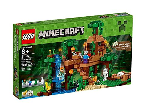 LEGO-Minecraft-21125-The-Jungle-Tree-House-Playset