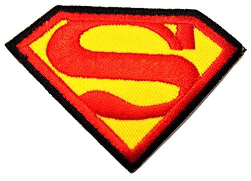 Superman Logo - Parche Termoadhesivos Bordado Parches