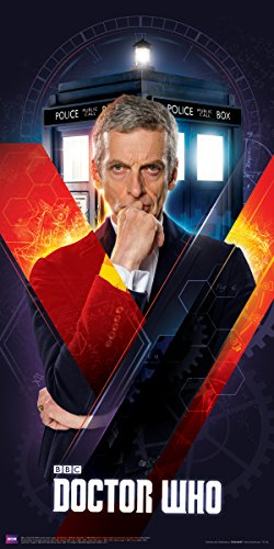 Culturenik Doctor Who The Zwölfte Doktor Peter Capaldi Sci Fi Britische Fernsehsendung, 30,5 x 61 cm