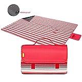 b375130aea1d YONOVO coperta da picnic impermeabile con maniglia per il picnic e per  parco di campeggio in