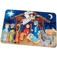KidKraft Puzle de suelo de madera - Natividad