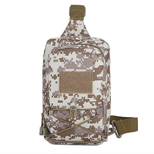 Outdoor-Klettern Chest Pack/Camo-Tasche/Damen Sport Messenger Bag/ Multi-funktionale Kleinsendung E