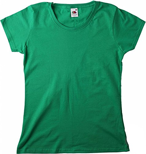 New Lady-Fit Valueweight T Kelly Green