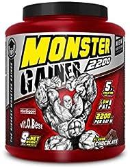 Vit-O-Best Monster Gainer 2200, Suplementos Alimentarios para Deportistas, Sabor a Vainilla - 9000 gr