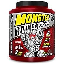 Vit-O-Best Monster Gainer 2200, Suplementos Alimentarios para Deportistas, Sabor a