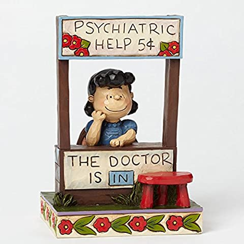 Jim Shore by enesco Peanuts Collection Lucy der DR DOCTOR ist in Figur