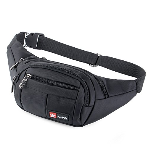 51sVxCTrUoL. SS500  - AirZyx Bumbags and Fanny Packs for Running Hiking Waist Bag Outdoor Sport Hiking Waistpack for Men Women