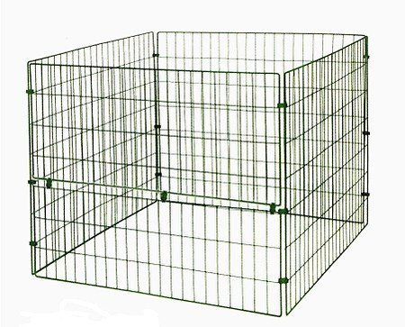 myGardenlust Gitter Komposter - Schnellkomposter aus Stahl mit Kunststoff - Thermokomposter mit Klappe - Kompostierer stabil und hochwertig - Composter für Garten-Abfälle Grün - mit Klappe   660L
