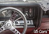 US Cars (Wandkalender 2019 DIN A4 quer): Detailfotos von amerikanischen Autoklassikern (Monatskalender, 14 Seiten ) (CALVENDO Mobilitaet)