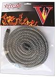 Vitcas Negro Estufa Fire 10mm de Diámetro, 2m