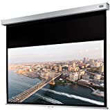 celexon manuell ausziehbare Rollo-Beamer-Leinwand Professional Plus - 240 x 135 cm - 16:9 - Gain 1,2 - Full-HD und 4K